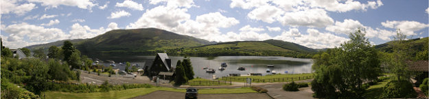 Panoramic view from Lochearnhead