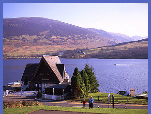 View from Lochearnhead Hotel